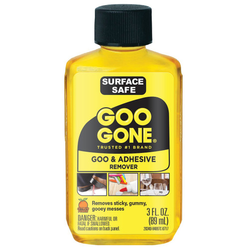 Goo Gone 2034D - Goo & Adhesive Remover 3 oz.  - Front