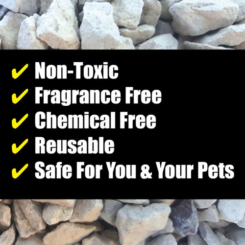 Gonzo 1014D - Natural Magic Odor Eliminator for Pets 32 oz. - Non-Toxic, Fragrance Free, Chemical Free, Reusable and Safe for You and Your Pets