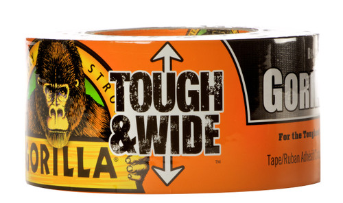 Gorilla Glue 6003001 - Black Wide Tape (30 Yd. X 2.88 In.)