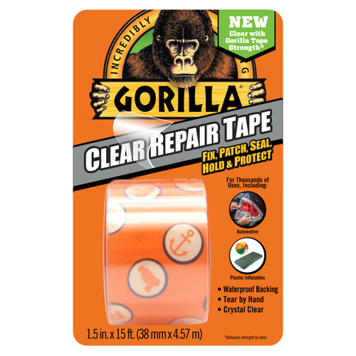 Gorilla Glue 6015002 - Clear Repair Tape (5 Yd)