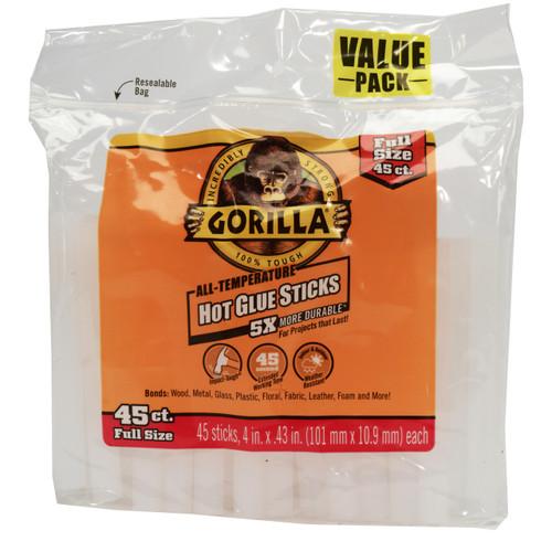 Gorilla Glue 3034502 - Hot Glue 4 In. Full - 45 Ct