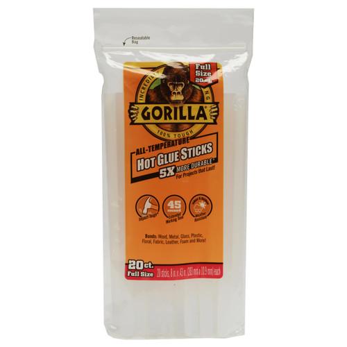 Gorilla Glue 3032016 - Hot Glue 8 In. Full - 20 Ct.
