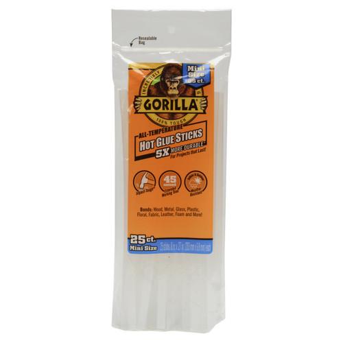 Gorilla Glue 3022532 - Hot Glue 8 In. Mini - 25 Ct