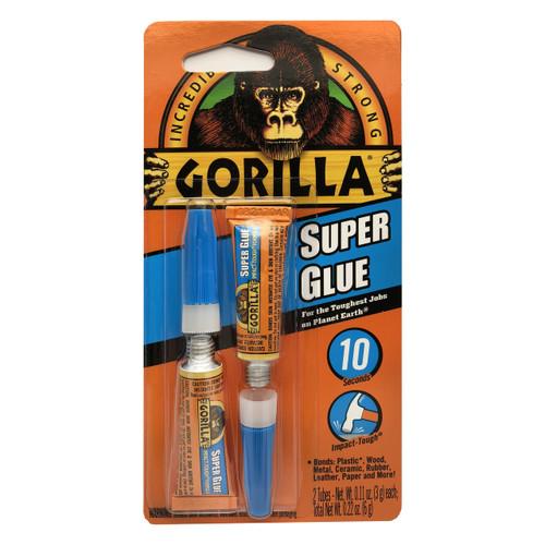 Gorilla Glue 7800101 - Super Glue (3 Gram 2 Pack)