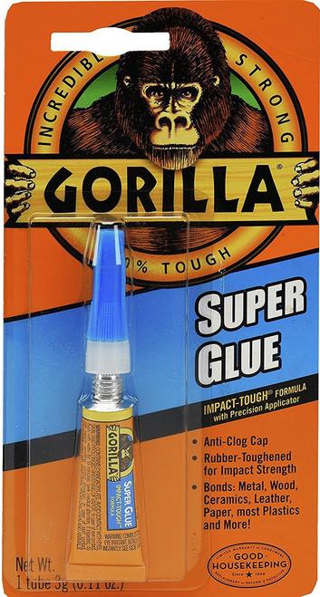 Gorilla Glue 7900102 - Super Glue (3 Gram Tube)