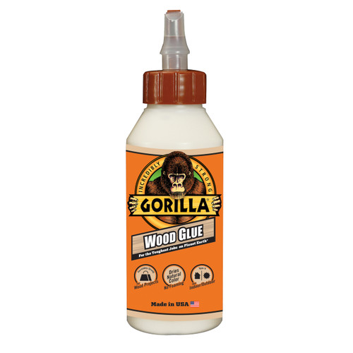 Gorilla Glue 6200002 - Wood Glue (8 Oz.)