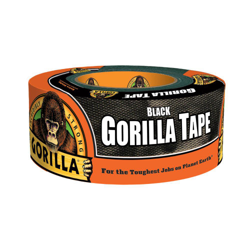 Gorilla Glue 60124 - Black Tape (12 Yd.)