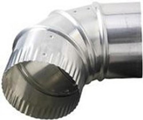 Deflecto DE904 - 90 Degree Aluminum Venting Elbow