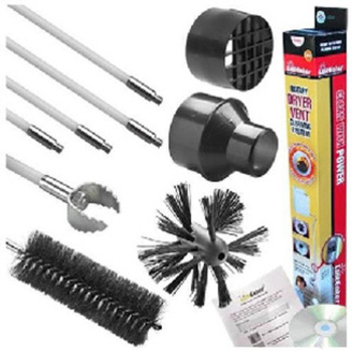 Lint Eater DVC202 - Dryer Vent Cleaning Kit
