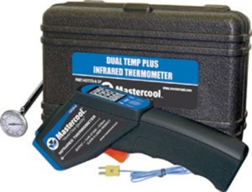 Mastercool 52225-A - Infrared Thermometer with Duel Temperature Plus