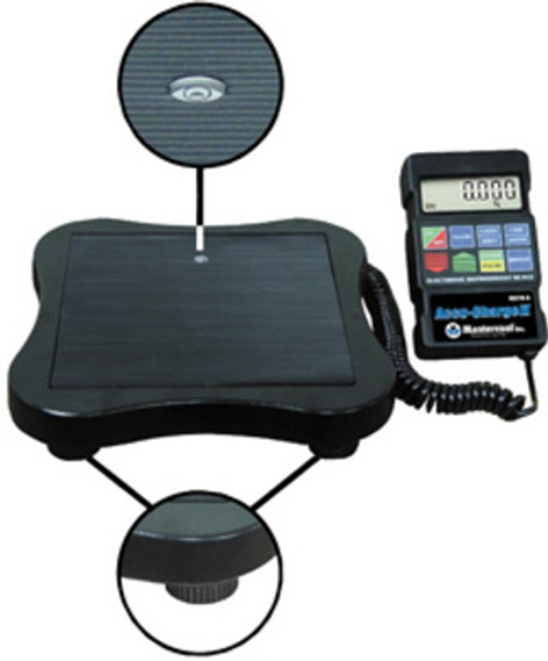 Mastercool 98210-A - Electronic Refrigerant Scale Accu-Charge II