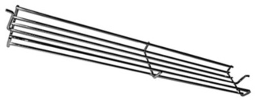 Music City Metals 02346 - Chrome steel wire warming rack for Weber grill
