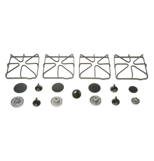 FREE-STANDING 4 BURNER PASSOVER KIT -  Includes storage case