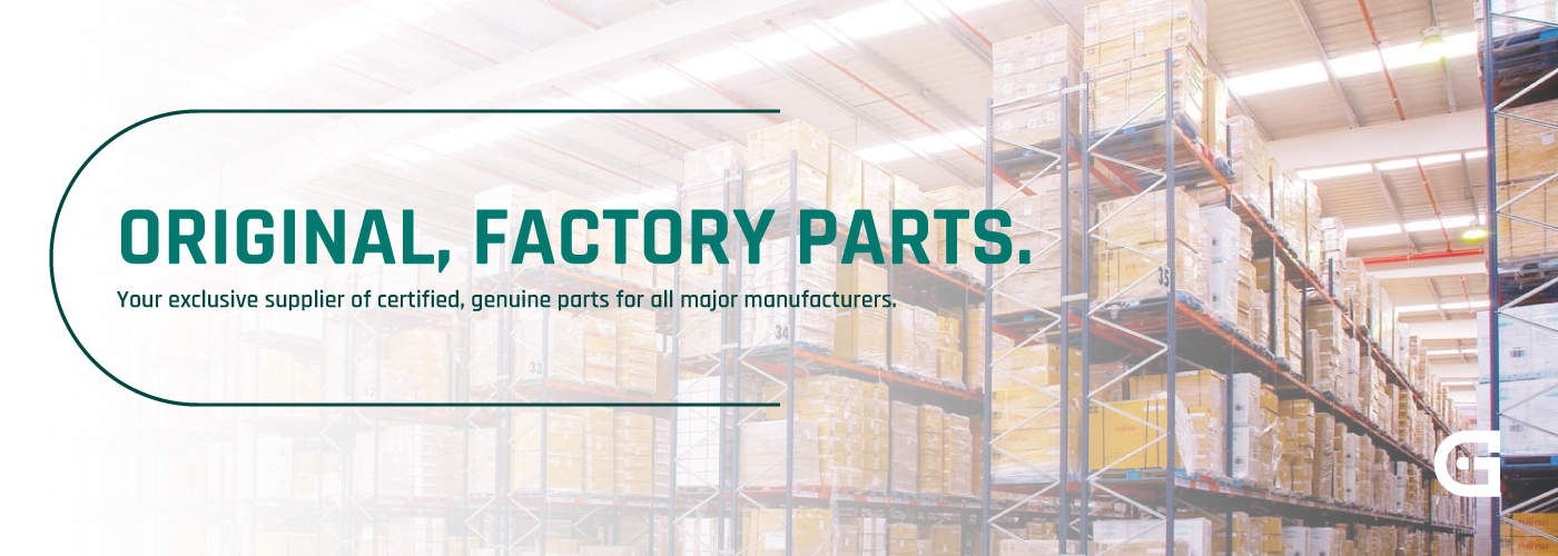 Appliance Parts Group only sells original, genuine factory parts.