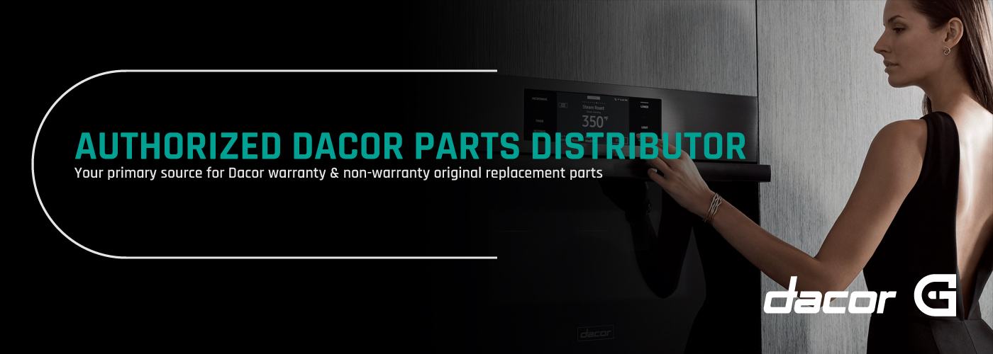 Appliance Parts Group is an exclusive, authorized Dacor parts distributor for the United States.