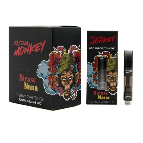 Flying Monkey Flying Monkey 1 Gram Cartridges Delta-8 THC 800mg