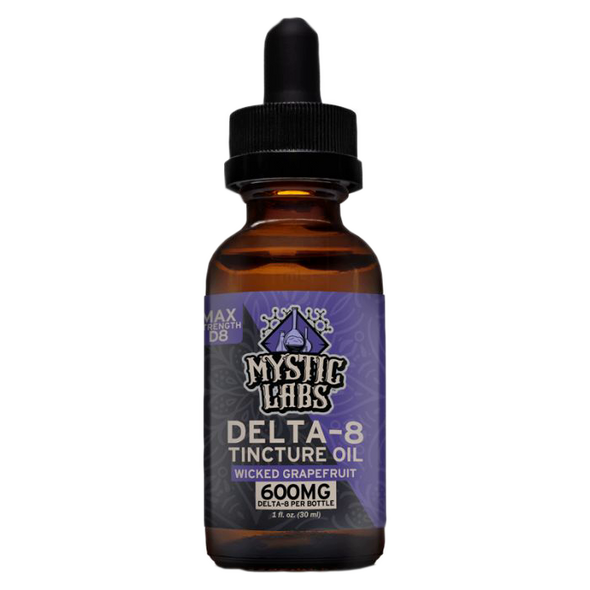 Mystic Labs Delta 8 Tincture 600mg and 30ml
