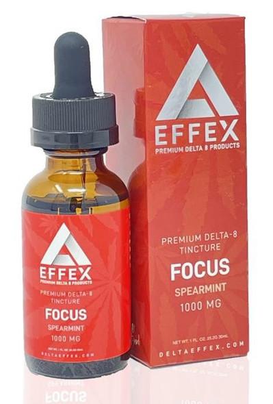 Delta Effex Focus Premium Delta 8 Oil Tincture 30mL