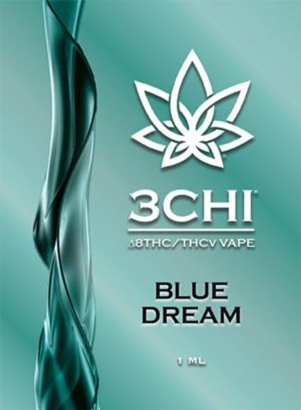 3CHI THCv Vape Cartridge Blue Dream 1mL