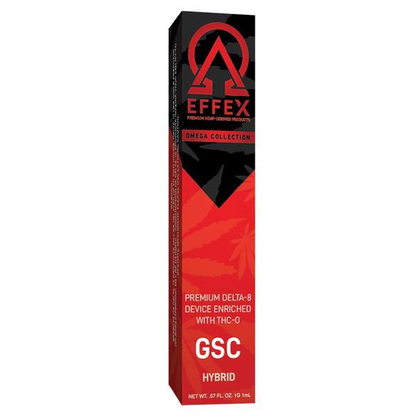 GSC Premium THC-O Disposable Vape 1 Gram - Delta Effex