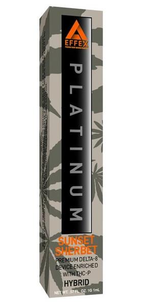 Delta Effex Platinum Sunset Sherbet THC-P Disposable