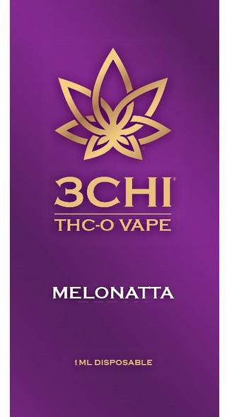 3CHI THCO Disposable Vape - melonatta