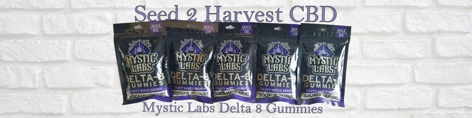 mystic labs delta 8 thc gummies 12 count 300mg