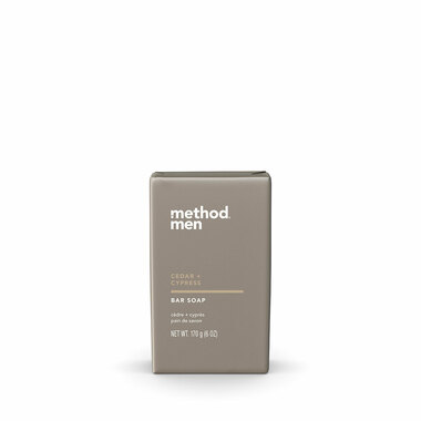 cedar + cypress bar soap, 6 oz-1