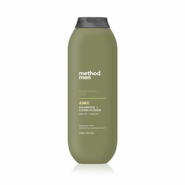 bergamot + lime 2-in-1 shampoo + conditioner, 14 fl oz-4