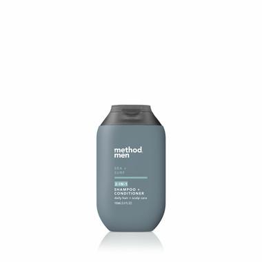 sea + surf travel 2-in-1 shampoo + conditioner, 3.4 fl oz-3