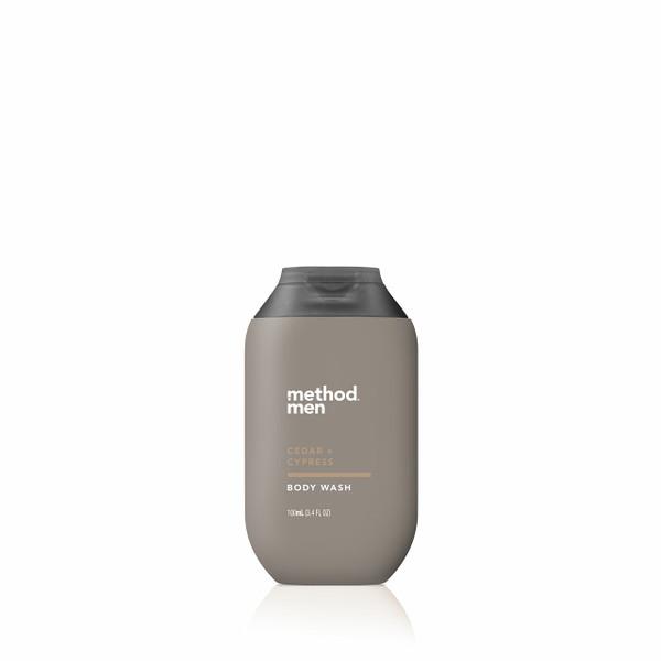 cedar + cypress travel body wash, 3.4 fl oz-