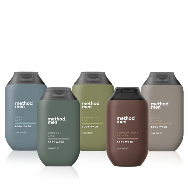 travel size body wash collection-