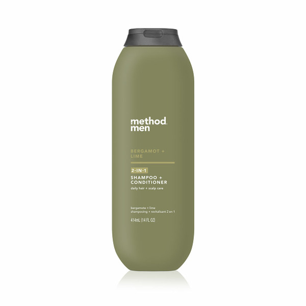 bergamot + lime 2-in-1 shampoo + conditioner, 14 fl oz-