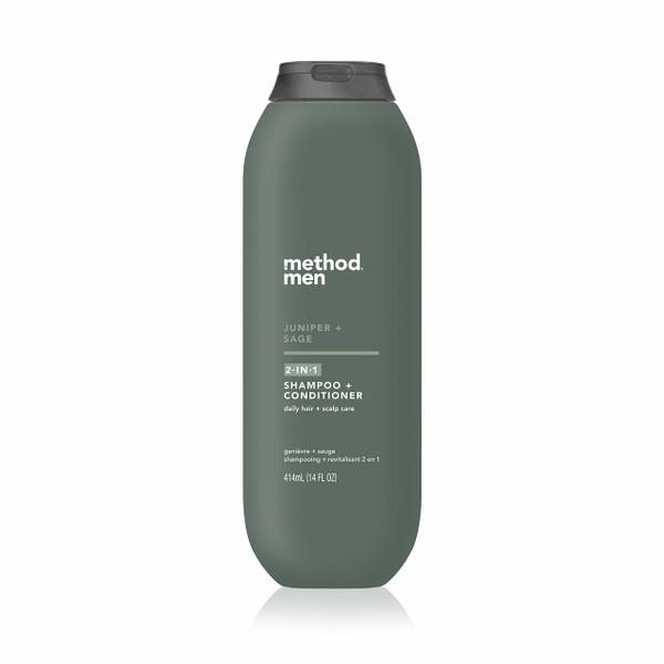 juniper + sage 2-in-1 shampoo + conditioner, 14 fl oz-