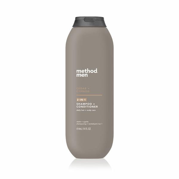 cedar + cypress 2-in-1 shampoo + conditioner, 14 fl oz-