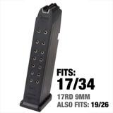 Glock 17-Round 9mm Magazine