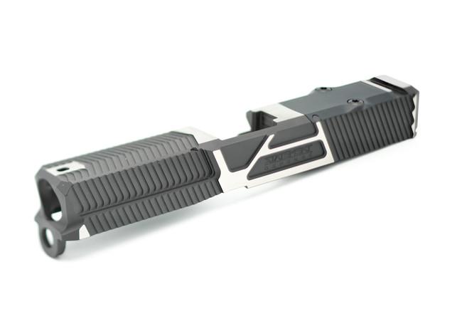 SLIDEbite - G3/19/RMR - Black Cerakote w/ Satin Flats