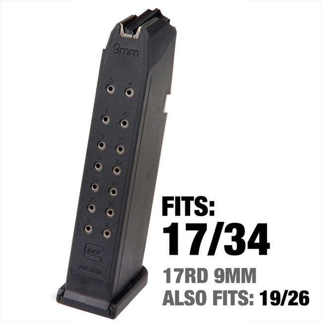 Glock 17 9mm 17-Round Factory Magazine