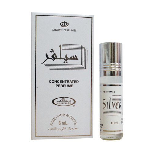 Al-Rehab Silver Roll On Perfume Oil - 6ml (With Retail Box)