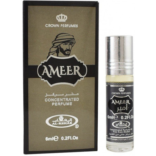Al-Rehab Ameer Roll On Perfume Oil - 6ml (With Retail Box)