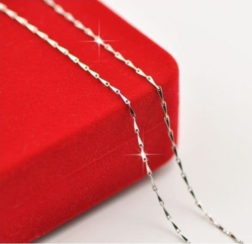 Silver Plated 16 to 24 inch Necklace Chain JW2040