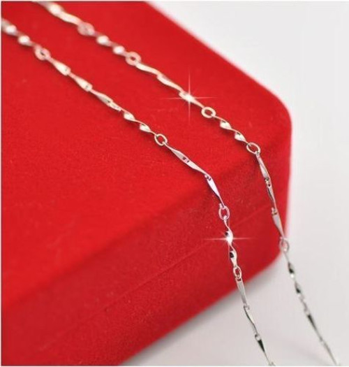 Silver Plated 16 to 24 inch Necklace Chain JW2070