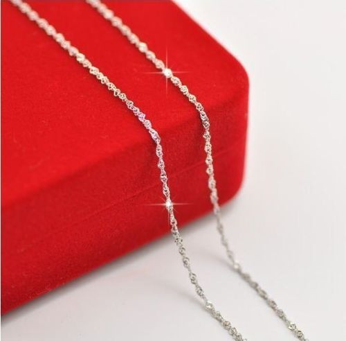 Silver Plated 16 to 24 inch Necklace Chain JW2071
