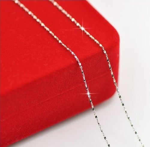 Silver Plated 16 to 24 inch Necklace Chain JW2073
