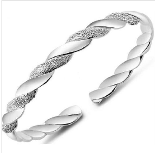 Silver Plated Bohemian Fashion Adjustable Bangles
