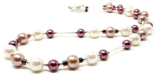 Orchid Handmade South Sea Shell Pearl Beads Necklace
