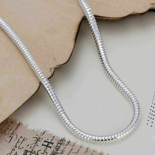 Unisex Fashion Jewelry 925 Silver Plated Snake Bracelet with gift box