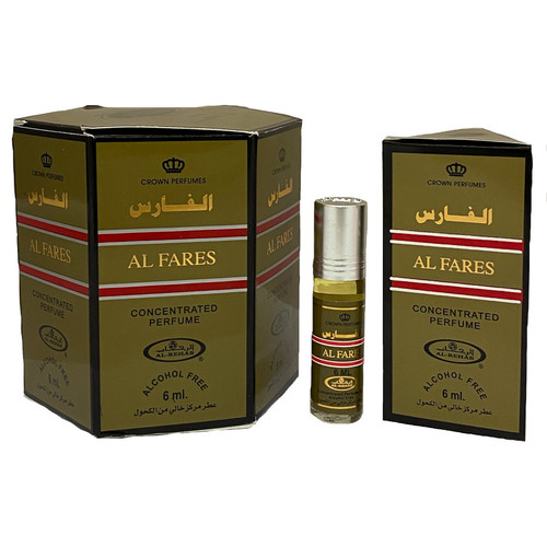 Al-Rehab Al Fares Roll On Perfume Oil - 6ml (Without Retail Box)