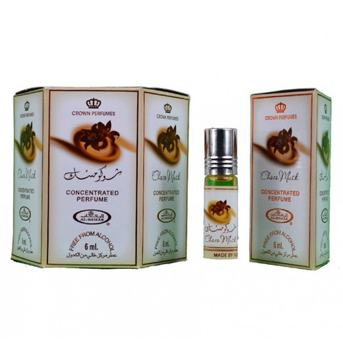 Al-Rehab Choco Musk Roll On Perfume Oil - 6ml (Without Retail Box)
