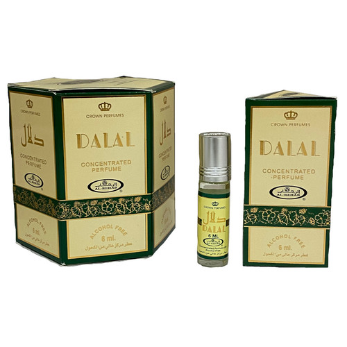 Al-Rehab Dalal Roll On Perfume Oil - 6ml (Without Retail Box)